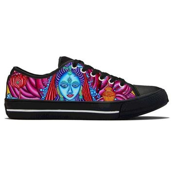 Lakshmi by Alex Aliume - Low Top Canvas Shoes