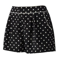 LC Lauren Conrad Dot Pleated Shorts