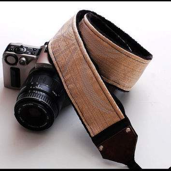 Custom camera strap DSLR Camera Strap Hint o' by sizzlestrapz