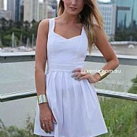 HEART CUT OUT DRESS , DRESSES, TOPS, BOTTOMS, JACKETS & JUMPERS, ACCESSORIES, 50% OFF SALE, PRE ORDER, NEW ARRIVALS, PLAYSUIT, GIFT VOUCHER,,White Australia, Queensland, Brisbane