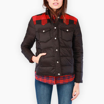 Penfield Women's Rockford Down Insulated Jacket Black