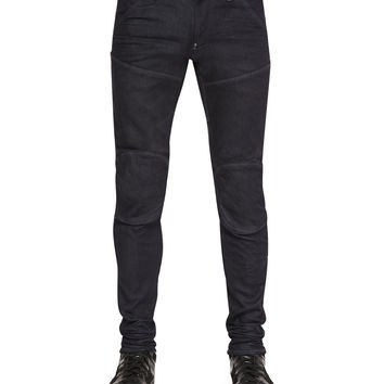 5620 3D Super Slim Stretch Moto Jeans, Size: