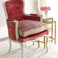 "Old Hickory Tannery - ""Darra"" Rose Chair - Horchow"