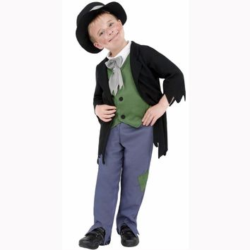 Kids Oliver Twist Costume  The Parish Boy's Progress Victorian Costume Halloween Fancy Dress Child World Book Day Costumes