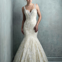 Allure Couture C325 Fit and Flare Wedding Dress