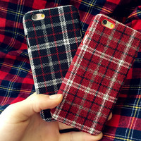 Unique Handmade Oxford Cloth iPhone X 8 7 Plus & iPhone 6s 6 Plus Case + Gift Box