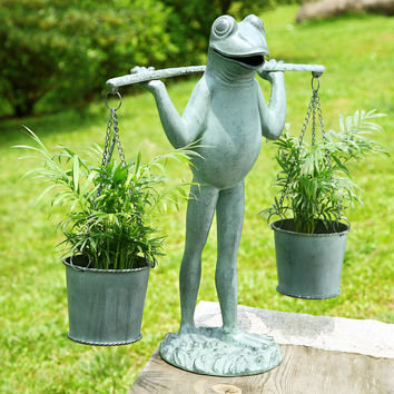SPI Farmer Frog Planter Holder