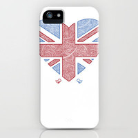 Union Jack  iPhone Case by Joanne Hawker | Society6