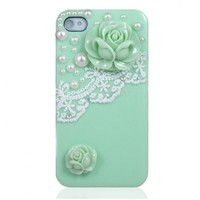 Pearl & Lace Flower IPhone 4 / 4S C.. on Luulla