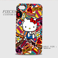 Hello Kitty colorful 3D Image Cases for iPhone, iPod, Samsung Galaxy by FixCenters
