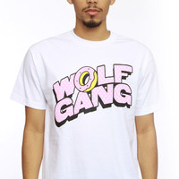 Odd Future, Wolf Gang Cartoon T-Shirt White - Odd Future - MOOSE Limited
