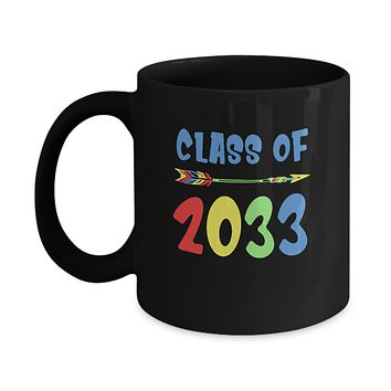 Class Of 2033 Grow With Me Pre-K First Day Of School Mug