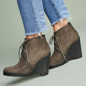 Vanessa Wu Wedge Booties