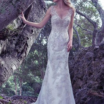 2016 Luxury Bead Embellished Sheath Tulle Bohemian Wedding Dress Features Gorgeous Crystal Illusion Straps Bridal Gown Plus Size