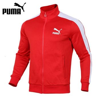 Original New Arrival 2018 PUMA Archive T7 Track Jacket Men's  jacket  Sportswear