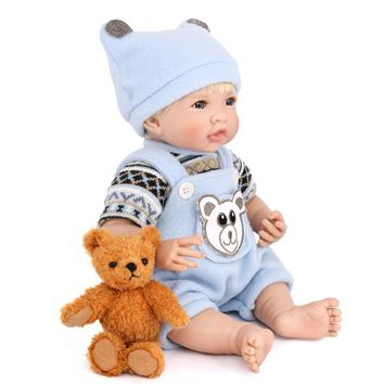 Playing House Reborn Soft Rubber Baby Doll Toys