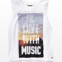 """""""In Love With Music"""" Tank - Graphic Tees  - Garage"""