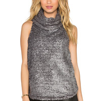 Backstage Ash Top in Silver