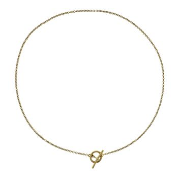 Hermes Gold Toggle Necklace