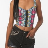 UrbanOutfitters.com > Lucca Couture Cut-Out Back Bustier
