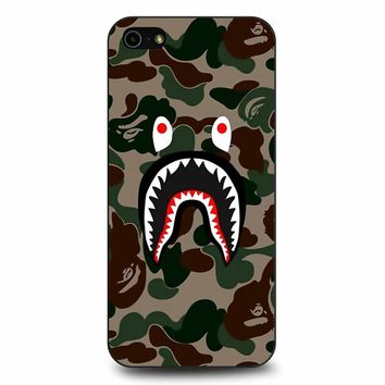 Bape Camo Shark Face iPhone 5/5s/SE Case