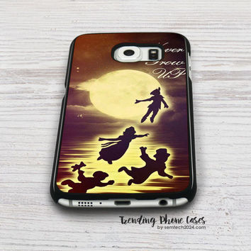 Peterpan Never Grow Up Samsung Galaxy S6 Case Cover for S6 Edge S5 S4 Case