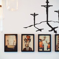 Crucifixion of Lord Jesus  Vinyl Wall Decal - Removable (Indoor)