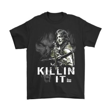 QIYIF Daryl Dixon Killin' It - The Walking Dead Shirts