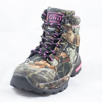 "Huntress 6"" Boot Camo - Insulated 