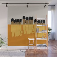 Modern minimal 02 Wall Mural by naturalcolors
