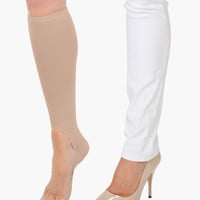 Women's No Show Sock Pair - Nude