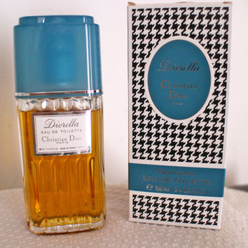 Vintage ORIGINAL Diorella EDT, 100ml-3.4FL.OZ. New Bottle!