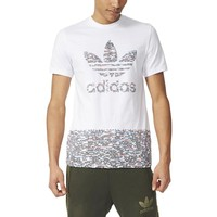 ADIDAS WHTNOISE FILL T-SHIRT MENS APPAREL
