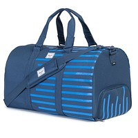 Novel Duffle Bag in Navy Offset Stripe by Herschel Supply Co.