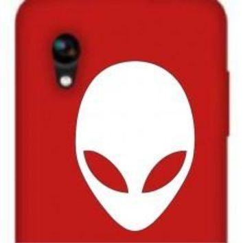 Alien Face Car Window Ipad Tableet PC Notebook Cumputer Decal Sticker