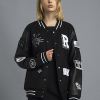 Bad Kids Varsity Jacket (Black)
