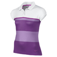Nike Stripe Girls' Golf Polo Shirt