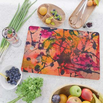 Summer Fling Cutting Board by duckyb