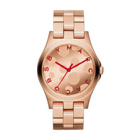 Marc Jacobs Women's Henry Rose Goldtone Analog Watch