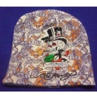 Fashion ed hardy knitted hat edhardy hats fedoras