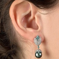 Boucles D'Oreilles Gaia Diamond Earrings
