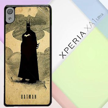Batman Poster V1055 Sony Xperia XA1 Ultra Case