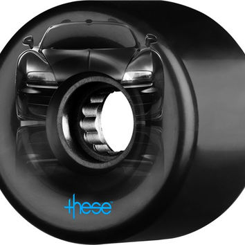 These Atf-327 Centerset Supercar 59mm 82a Black Longboard Wheels