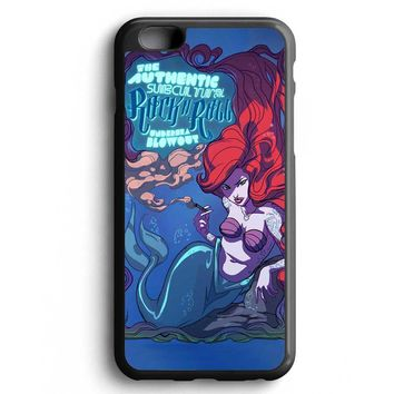 Custom Case Mermaid Rock N Roll Under Sea for iPhone Case & Samsung Case