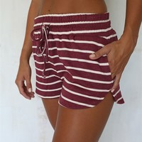 Umpire Stripe Shorts | SABO SKIRT