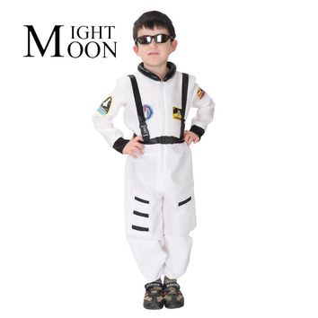 MOONIGHT Astronaut Toddler Space Costume Halloween Costume Childrens Toddlers Space Halloween Jumpsuit