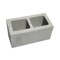 8 in. x 8 in. x 16 in. Concrete Block-100825 - The Home Depot