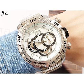 INVICTA men and women models high-end wild fashion quartz watch #4