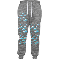 Minecraft Diamond Joggers