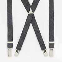 ASOS | ASOS Suspenders with Metallic Finish at ASOS